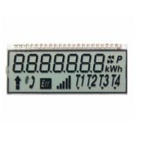 12 O'Clock 7 Digit Tn Panel Display , Twisted Nematic Lcd For Communications / Telephone