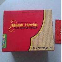 Wholesale natural herbal bama foot bathing powder from china suppliers