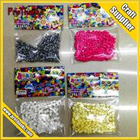 Various color beads for fuse perler beads Kids DIY Crafts