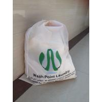 Quality beige color polyster Laundry bag waterproof for sale