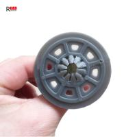 China 60mm Zinc Plating HDPE Insulation Nail With Plastic Frame on sale
