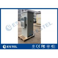 China 304 Stainless Steel Outdoor Telecom Cabinet Single Wall With Heat Insulation One Front Door on sale