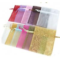 Quality Mini Sized Drawstring Jewelry Pouch 25x25cm Dimension For Gift Packaging for sale