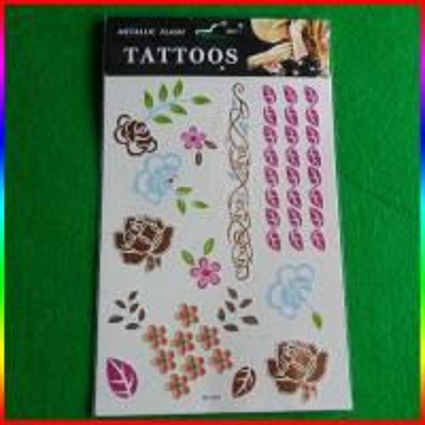 Water transfer temporary tattoo custom cartoon tattoo for Custom tattoo stickers