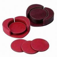 Wholesale Leather Coasters, Cork Coasters Also Available from china suppliers