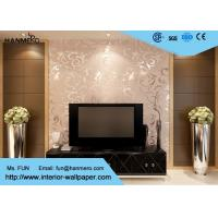 Eco - friendly Non - woven Modern Room Wallpaper , Embossed Wall Coverings