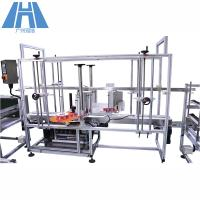 Quality Full Automatic Automatic Labeling Machine For Corner Labeling Sticker Adhesive Top for sale