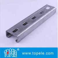 Wholesale 41x41mm, 41X21MM Pre-galvanized / Hot Dipped Slotted Strut Channel Unistrut Channel from china suppliers