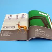 Quality Offset Printing Brochure Printing Services , Soft Cover Digital Printing for sale