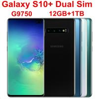 """Wholesale 2019 Samsung Galaxy S10+ S10 Plus G9750 Dual Sim 12GB RAM 1TB ROM Mobile Phone Octa Core 6.4"""" 5 Camera Snapdragon 855 NF from china suppliers"""