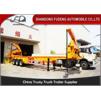 Wholesale 37 / 42 Tons Side Loader Trailer ,40ft Container Carrrying  Side Lifter Truck from china suppliers