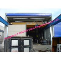 Wholesale Rapid Fold Up Pack Doors For Factory Crane Doors Large Opening PVC Stacking Doors from china suppliers