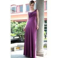 Wholesale Floor Length Beading Bodice Straps Mature Evening Dress /Modern Bridesmaids Dresses -30655 from china suppliers