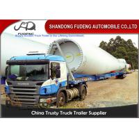 Wholesale 43 - 56 Meters Extendable Lowboy Trailer For Hydraulic Steering Wind Blade Carry from china suppliers