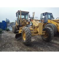 Buy cheap Original Color Cat Road Grader 140H , Old Caterpillar Graders CAT 3306 Engine from wholesalers