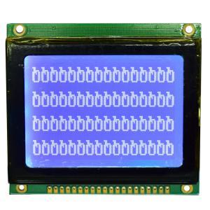 128*64 STN Graphic LCD Display Module , Dot Matrix Type Serial LCD Module