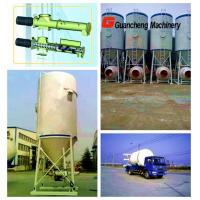 China ISO CG22 white mobile cement silo for dry powder mixing plant on sale
