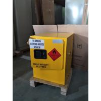 Buy cheap 4 Gallon / 15 L Chemical Safety Storage Cabinets Manual Closing For Laboratory from wholesalers