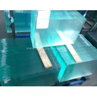 Buy cheap Curve  10MM  Durable Csi Custom Tempered Safety Glass Low Visible Distortion from Wholesalers