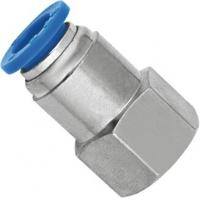 Buy cheap Pneumatic Female Straight NPT Threaded Fittings With Push Fit Technology from Wholesalers