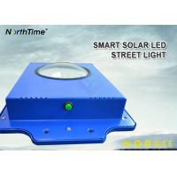 Wholesale Time Control 6W Smart Solar Street Light 600-700LM With Infrared Motion Sensor from china suppliers