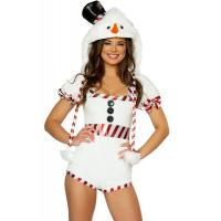 Buy cheap sweet sassy cute santa dress costume ,  mascot cosplay adult elf costume from Wholesalers