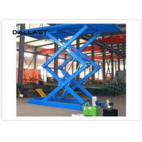 Wholesale Double Acting Single Piston Hydraulic Scissor Lift for Engineering Machinery from china suppliers