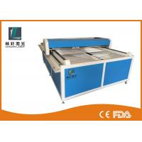 China Flat Bed Glass Tube CO2 Laser Engraving Machine For Wooden Arts / Crafts on sale