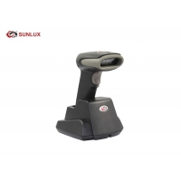 Wholesale Single Line Scan Wireless QR Code Scanner , Wireless USB Barcode Scanner With Cradle from china suppliers