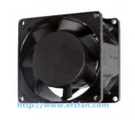 80*80*38mm 110V/120V/220V/240V AC Black Alumium Brushless Cooling Fan AC8038