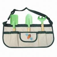Wholesale Garden Tool Set with 600D Polyester Handbag from china suppliers