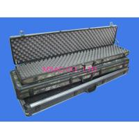 Wholesale Black Aluminum Hard Rifle Case , Army Gun Carrying Case For Packing Guns from china suppliers