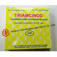 Wholesale Organic Chemcials Triamcinolone Acetonide Injection Medicine 80mg / 2ml Ceramic White Word , Brown from china suppliers