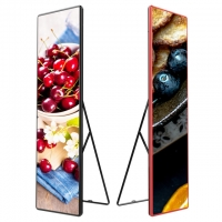 Wholesale P2.5 P3 280W 2500cd/㎡ SMD1515 Floor Standing LED Poster from china suppliers