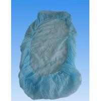 China Soft Plastic Disposable Bed Covers With Elastic , Water Proof And Protective on sale