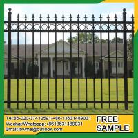 Wholesale BocaRaton tubular fence Sebastian ornamental picket fencing manufacturer from china suppliers