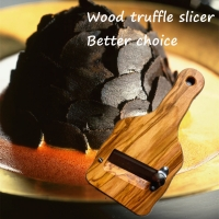 Wholesale Wood Truffle slicers Shavers Foie Gras Knife Cheese Knife With Rosewood Handle Can Print Logo from china suppliers