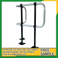 Wholesale Reading Ball tube handrail Steel balustrades ball joint stanchion railing for industry use from china suppliers