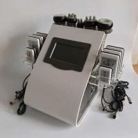Quality rf probe Touch Screen Laser Lipo Cavitation Machine Frequency 5MHz 100KPA Pressure for sale