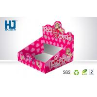 Wholesale Pink Environmental PDQ Counter Top Display Boxes , Point Of Sale Display Units from china suppliers