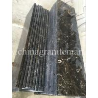 Wholesale China Dark Emperador  Marble stair step stone stair Dark Brown marble stairs Brown marble risers from china suppliers