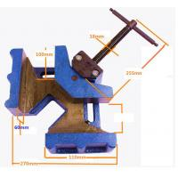 Quality Cast Iron Woodworking Welding Right Angle Corner Clamp for sale
