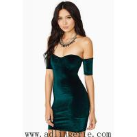 Wholesale inverted cashmere Slim sexy halter dress chest wrapped skirt clubwear sexy underwear factory M,L YY9 from china suppliers