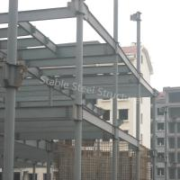 Wholesale Factory Manufacturer Steel Structure Workshop with Corrugated Roofing Sheets from china suppliers