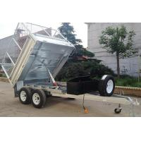 Buy cheap Fully Welded Galvanized Tandem Box Trailer With 6x4 7X4 8x5 Multi Size from Wholesalers