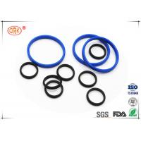 Wholesale Bouncy Rubber O Rings Flat Washers / Gaskets 30 Degree - 90 Degree Hardness from china suppliers