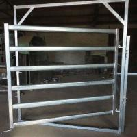 Wholesale Galvanized  Round Oval 40mm 6-bar Rail Livestock Sheep Panels from china suppliers