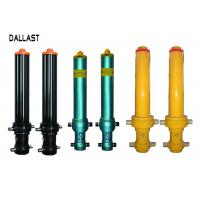 Wholesale Telescopic Hydraulic Oil Cylinder for Heavy Truck Front Hydraulic Lift from china suppliers