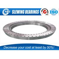 Wholesale Industrial Slew Ring Gears , Outer Gear Ball Bearing Ring For Excavator Part from china suppliers