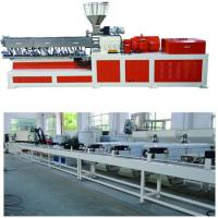 Wholesale Electricity Twin Screw Extruder Granulation Pelletizing System PP PE Conveyor Belt Machine from china suppliers